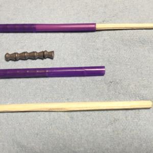 ストローと割箸による5.5mmペレットローダー
