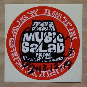 2018年12月19日『MUSIC SALAD』で山本まさみさんがサンタクロースのコスプレを披露