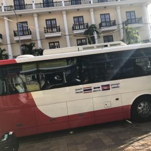 カンボジア→タイ 初!!バスで陸路国境越え