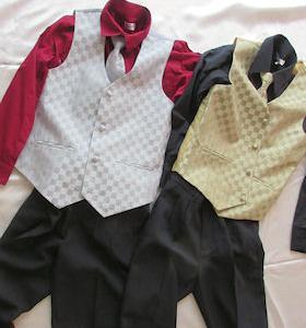 中2男子の発表会衣装