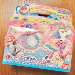 【トロピカル~ジュ!プリキュアおもちゃレビュー】くるくる変身!マーメイドアクアパクトを最速レビュー!