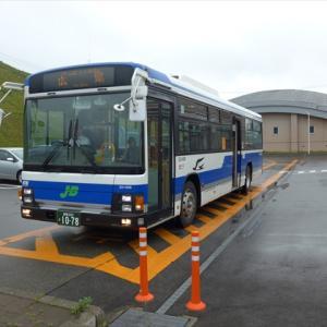 北海道完乗の旅19夏(13) 日勝線バス (様似駅→えりも駅→えりも岬)