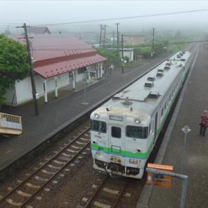 北海道完乗の旅19夏(22) 根室本線 厚内駅 ~そしてついに釧路に到着~