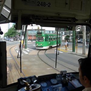 北海道完乗の旅19夏(44) 札幌市電で街をひと回り