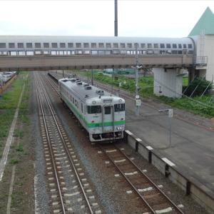 北海道完乗の旅19夏(53) 根室本線 芽室駅 ~帯広にはわずかに到達できず折り返す~
