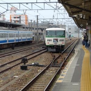 日帰りいずっぱこ20春(2) 東海道本線 三島駅 その1 ~駿豆線への渡り線と抉れホーム~