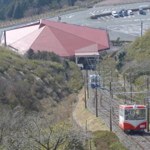 日帰りいずっぱこ20春(10) 伊豆箱根鉄道十国鋼索線 十国峠駅 ~富士山は雲隠れ・・・~