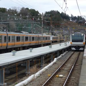御岳山とJR相鉄直通線(5) 青梅線 青梅駅と拝島駅 ~横田基地への貨物線と西武拝島線~