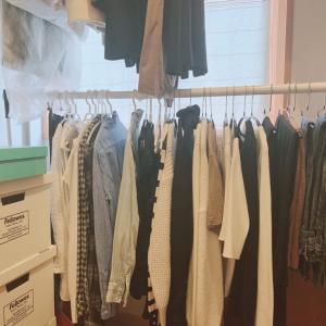 衣替え不要 らく家事なクローゼット収納