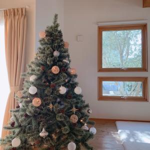 マイホーム10年目のクリスマスツリー