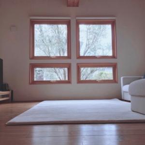 【注文住宅】木製サッシの窓