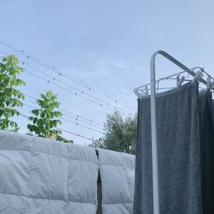 洗濯日和!¥899で物干しスペースを広くする