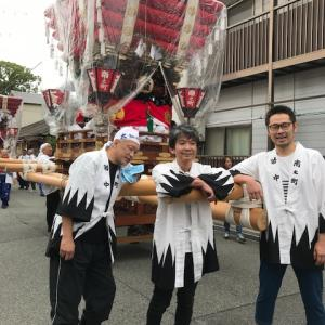 椋橋総社のお祭り