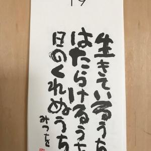 10月19日の記録!