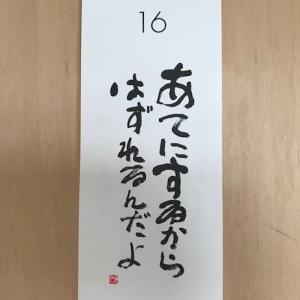 6月16日の記録!