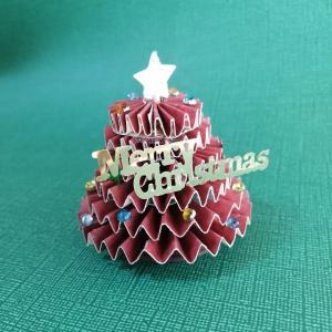 ペーパークリスマスツリー講座中止!