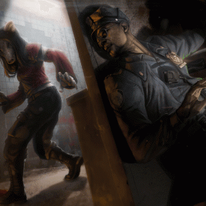 生存者【タップ刑事】まとめ-背景物語から固有パークの解説【デッドバイデイライト】