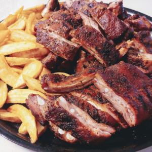 余ったお肉のリメイク料理。