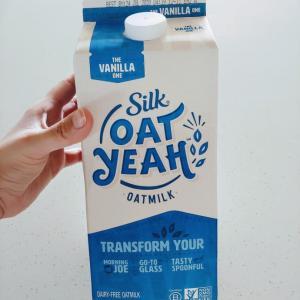 オーツミルク飲み比べ。