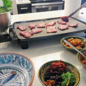 おうち焼き肉。とコストコ品。
