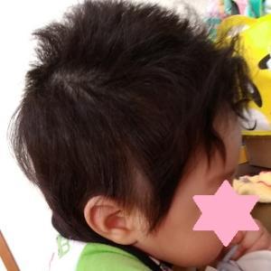 【生後7ヵ月】赤ちゃんの筆のため、自分で髪の毛カットしました!