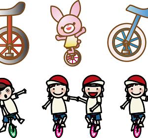 一輪車の乗り方・練習のコツ