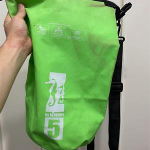 バリ島には防水バッグを持っていく。