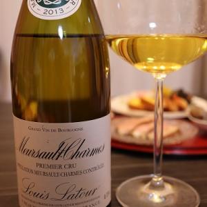 年始めのワイン。ルイ・ラトゥール ムルソー=シャルム