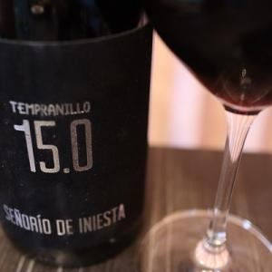 サッカーと関係ないが良ワイン。イニエスタ テンプラニーリョ 15.0