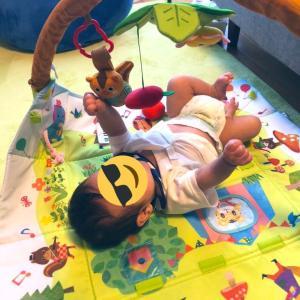 生後2ヶ月のお子とおすすめオムツポーチ