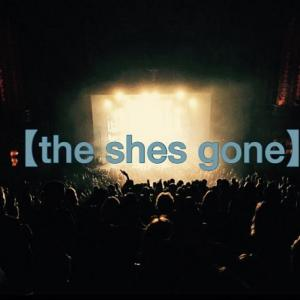 the shes gone(シーズゴーン)の代表曲は?どんなバンドか紹介!