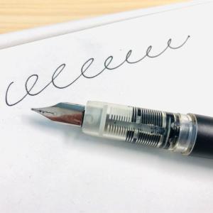 色々試した結果…万年筆はプレジールが好きでした
