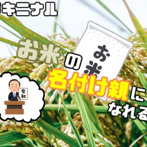 【今日のキニナル】福島県のブランド米 名前の募集を開始! 名付け親になれるかも?