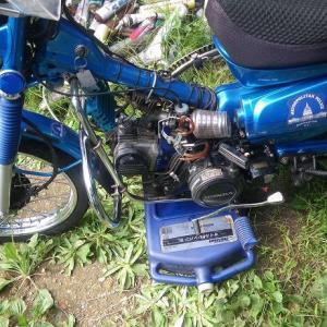 青CTのエンジン整備1