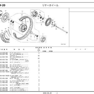 CT125純正サンプル入手♪