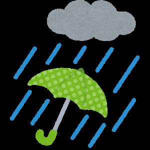 雨…心配です🌧☔️🌧💦💦