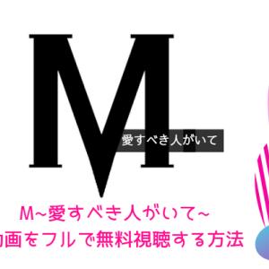 『M~愛すべき人がいて~』の動画をフルで無料視聴する方法