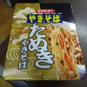 カップ麺祭り第721弾@ペヤングやきそば たぬきやきそば