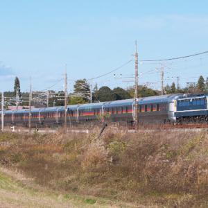 EF65-1102+E26系による黒磯訓練