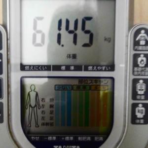 ダイエット45日目。今日まででマイナス5.35㎏の減量達成‼️