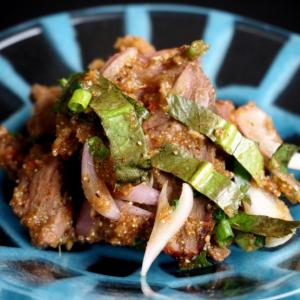 味澤ペンシー先生レシピで作る「ヌアナムトック」