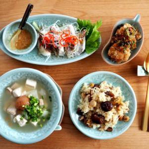 こんな中華系タイ料理もあるよ!「タイ風栗おこわ」を作る。