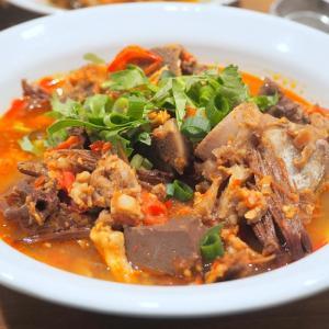 北部式トマトミートソースかけ麺「カノムチンナムギョウ」は手間暇かけて作る価値あり!
