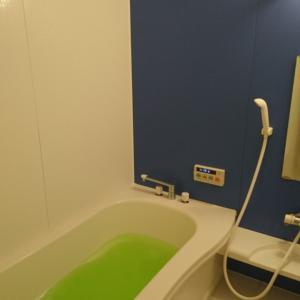 お風呂の大掃除完了