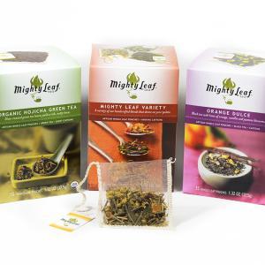 こだわりのアメリカ土産 Mighty Leaf のハーブティや紅茶