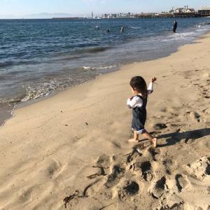 子供の砂場遊びはビーチで♪駐車場は?