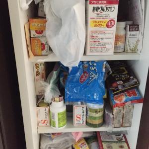 実家の断捨離  食品