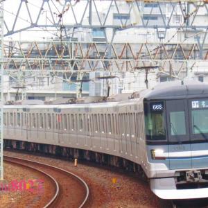 区急802F復活初の記録は東武西新井で緩行線の8両をねらって。
