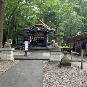 パワースポット③新屋山神社(山梨県富士吉田市)
