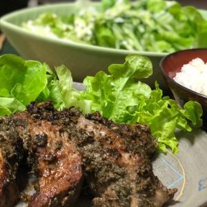 【レシピ】カスリメティマサラポーク スパイス等で漬けこんで次の日焼くだけ!